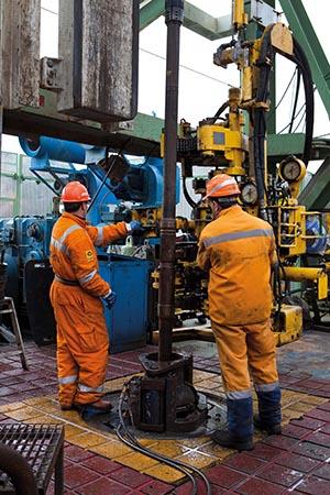 Alla Ricerca Del Petrolio Nel Cantiere Di Perforazione Total E P